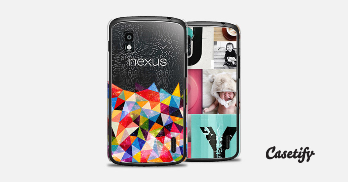 Custom Your Own Case For Nexus 4 Casetify