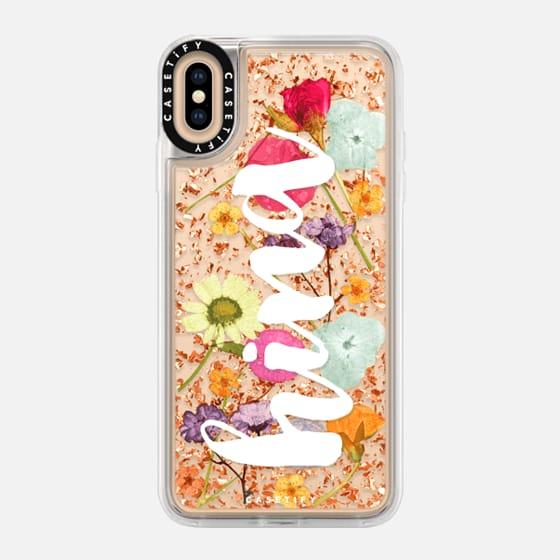 iPhone 7 Plus/7/6 Plus/6/5/5s/5c Case - Luxe Pressed Flower Phone Case